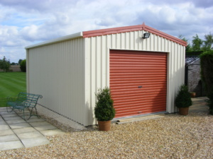 Domestic Steel Building