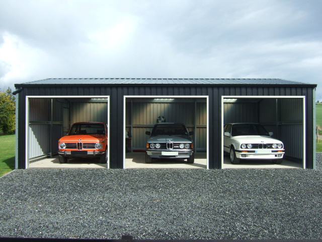 Domestic garage / shed