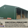 Agricultural Storage Barn with details