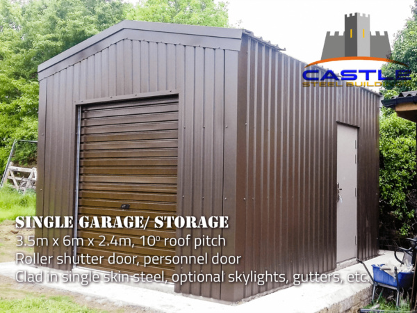 Single Garage with details