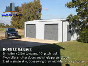 Double Garage with details